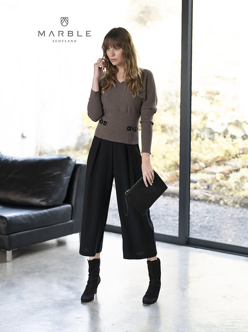 Marble Brown/Black Sweater Style 5867