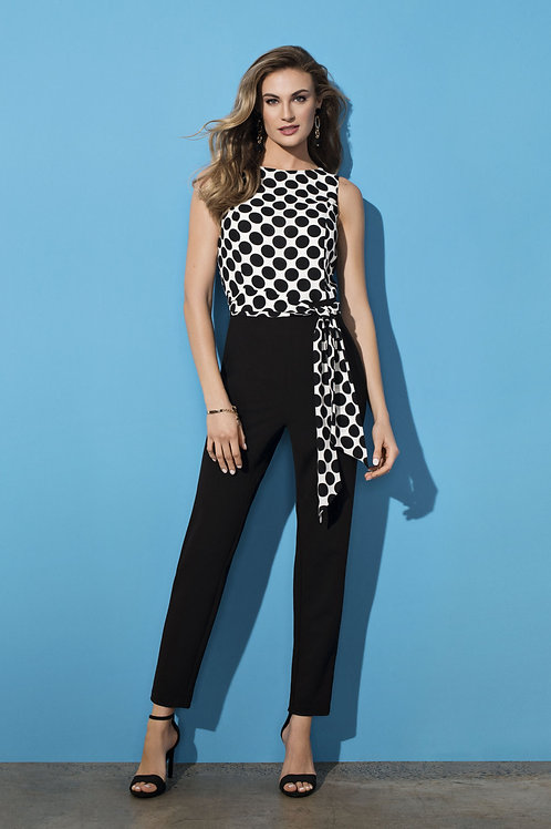 Frank Lyman Black/White Jumpsuit #196171
