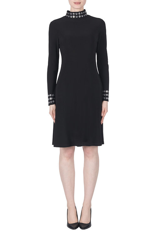 Joseph Ribkoff Black/Silver Dress #183043