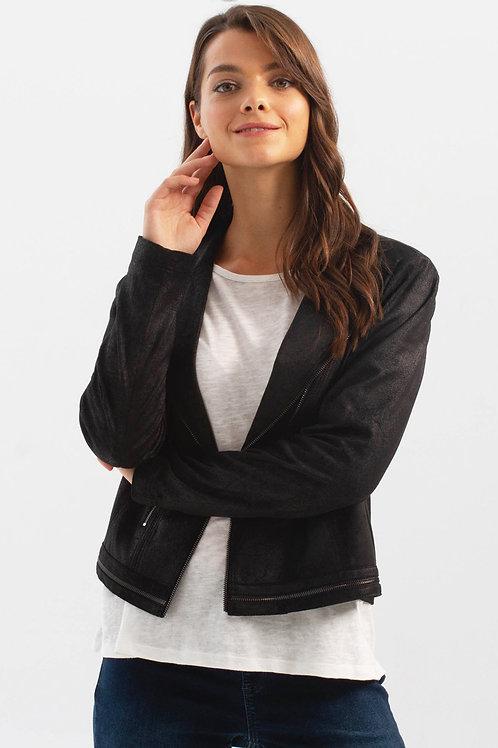 Charlie B Black Jacket Style C6135