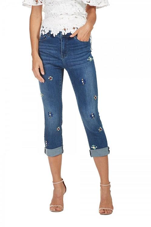 Frank Lyman Navy Jeans #181104U