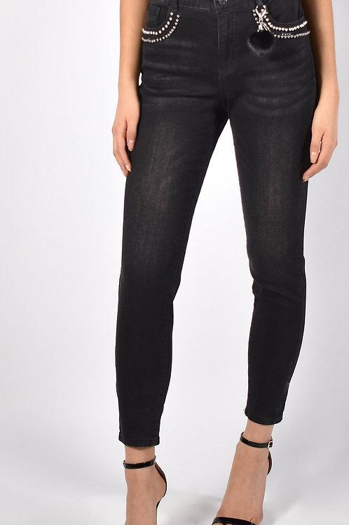 Frank Lyman Black Jeans Style 213107U