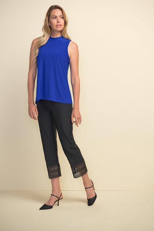 Joseph Ribkoff Black 7/8 Pants Style 211436