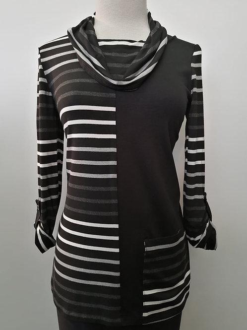 Crystal Black/White/Grey Tunic 10620