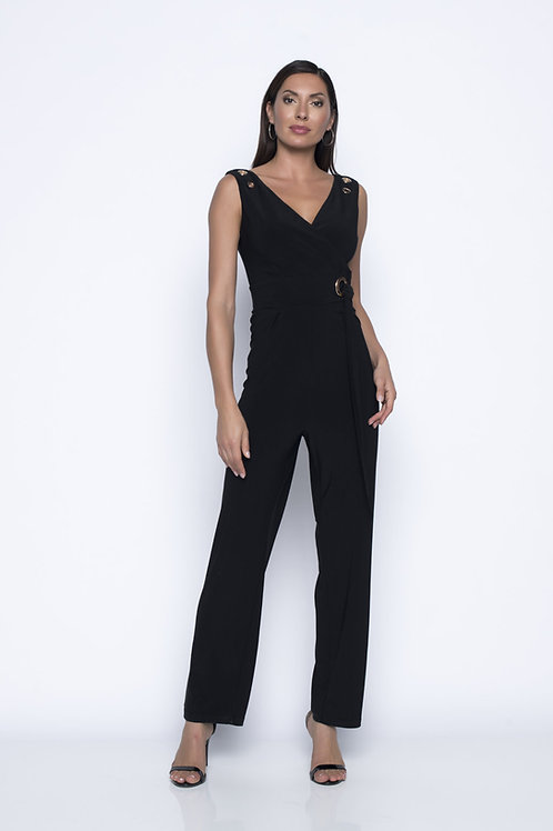 Frank Lyman Black/Gold Jumpsuit #196025
