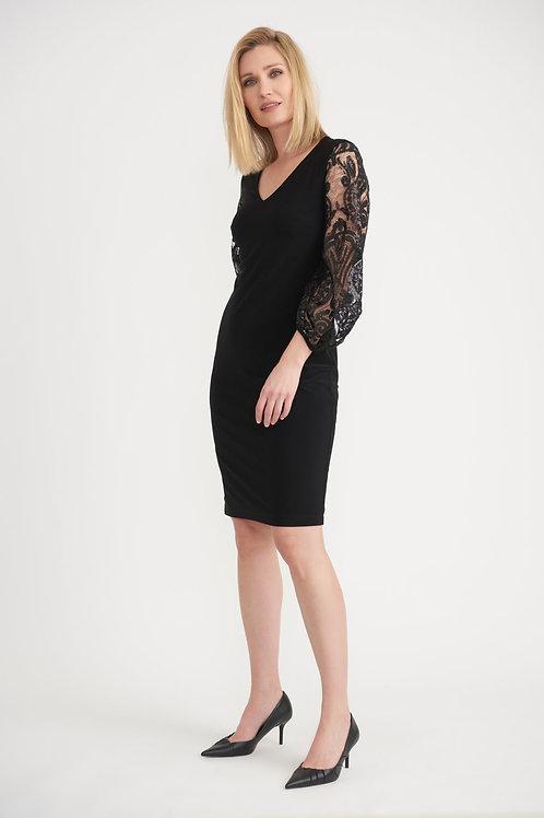 Joseph Ribkoff Black Dress Style 203437