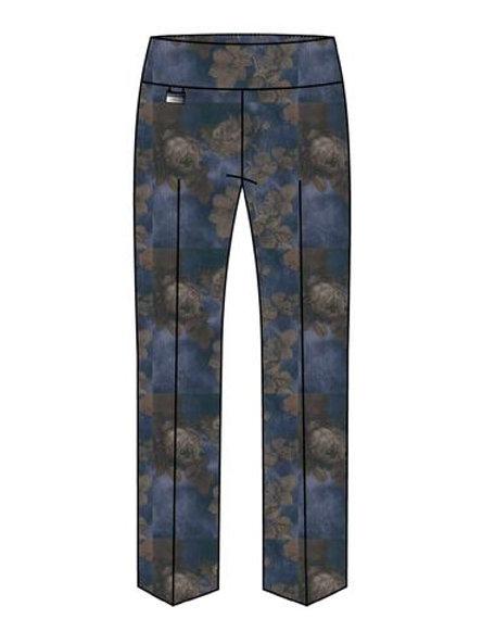Lisette-L Hampshire Floral Print Ankle Denim Pant Style 70401t