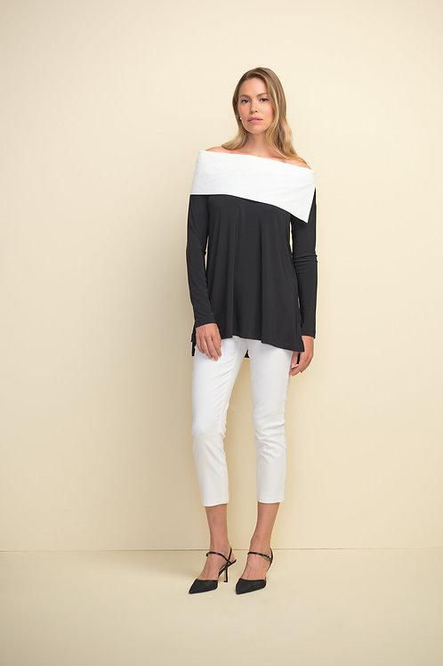 Joseph Ribkoff White Capri Pants Style 211493
