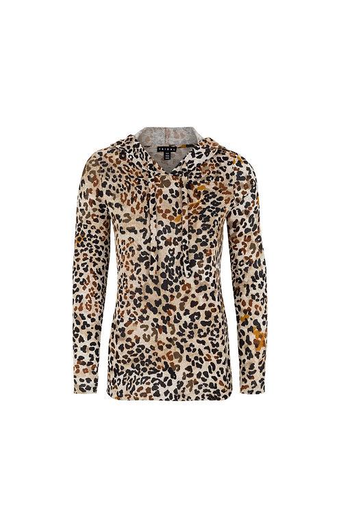 Tribal Cinnamon Leopard Top Style 43240
