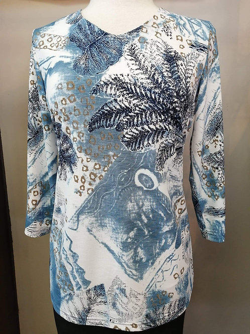 Crystal Blue/Multi Top Style 1461