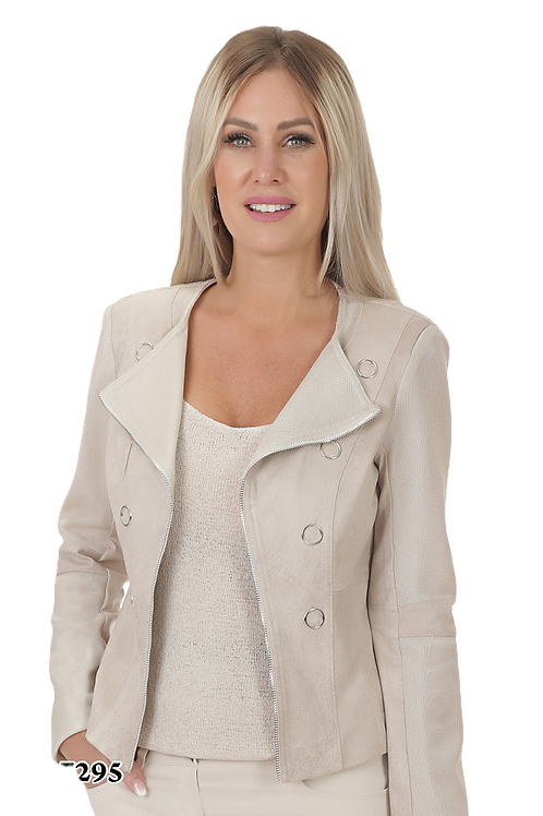 Ness Sand Silver Jacket Style N87295
