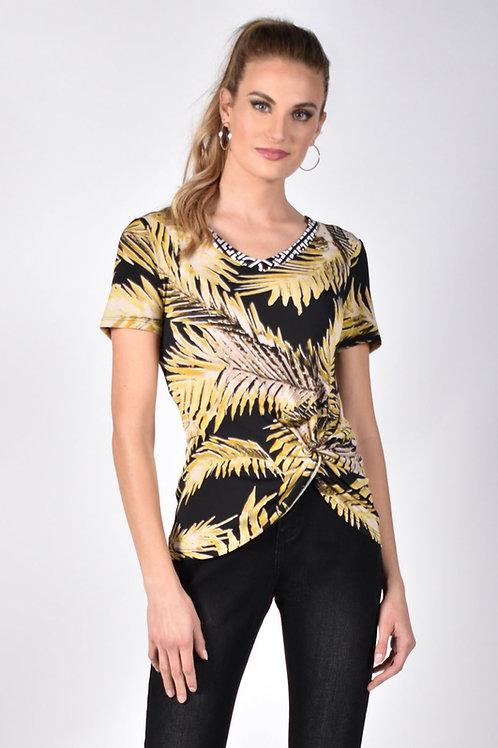 Frank Lyman Black/Yellow Top Style 211308