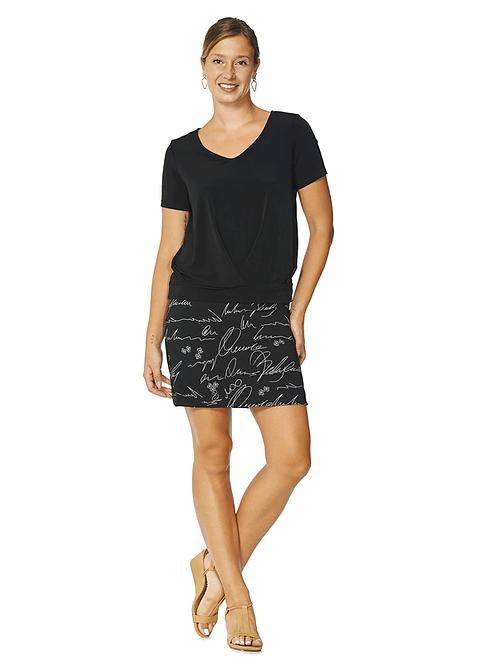 Aria Black/White Skort Style 3021