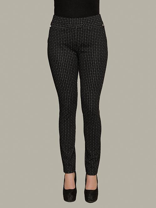 Minkas Black/White Pants Style LG196