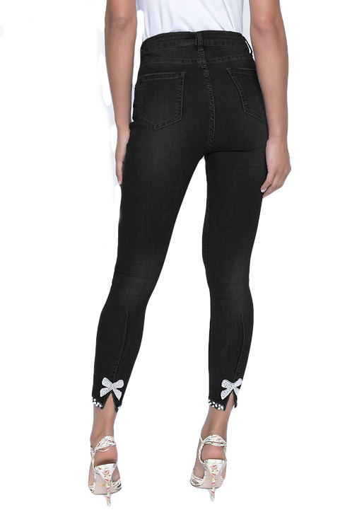 Frank Lyman Black Jeans Style 191116U