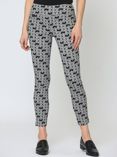Pantalon Noir/Blanc Lisette L #60655