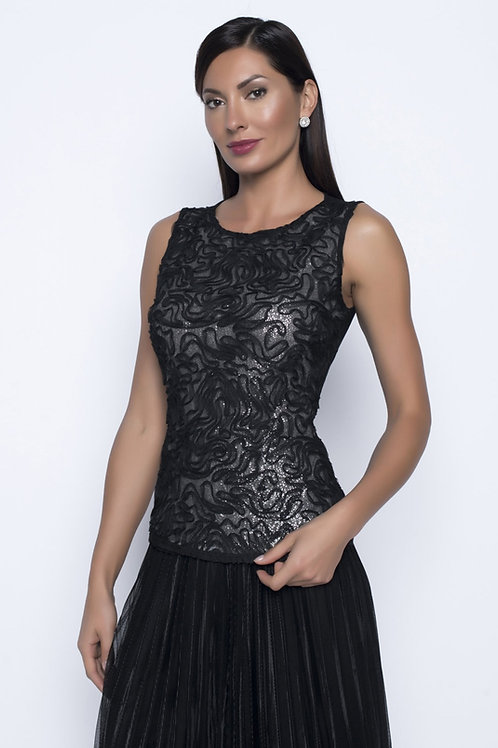 Frank Lyman Black Top #208301