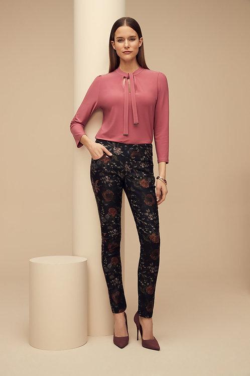 Lisette-L Black Sumerset Floral Pant Style 672644