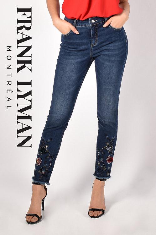 Frank Lyman Dark Blue Jeans Style 213137U