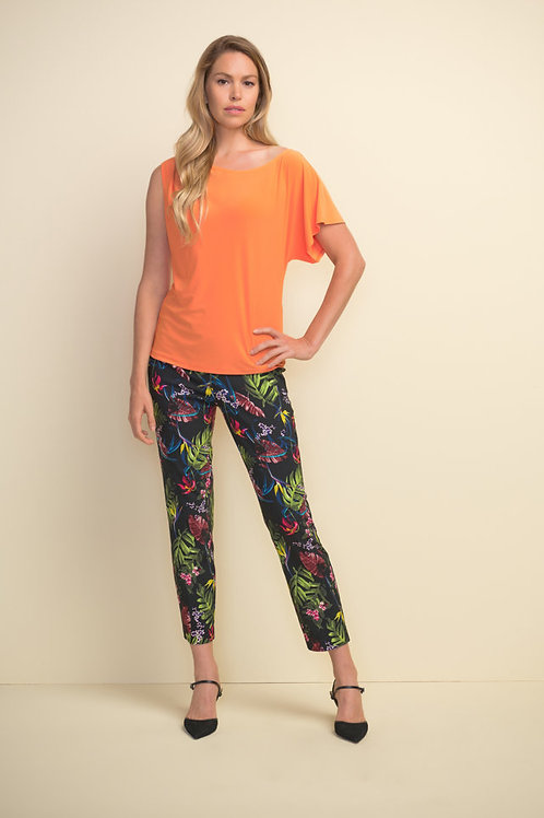 Joseph Ribkoff Tangerine Top Style 211204