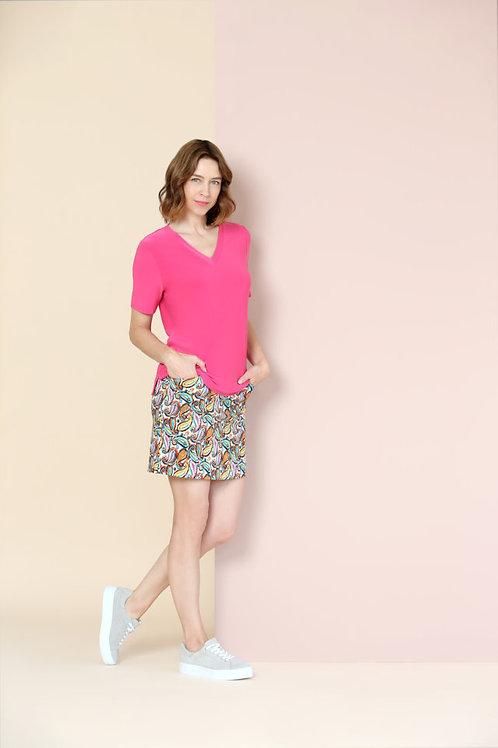 Lisette L Multi Paisley Skort Style 775720