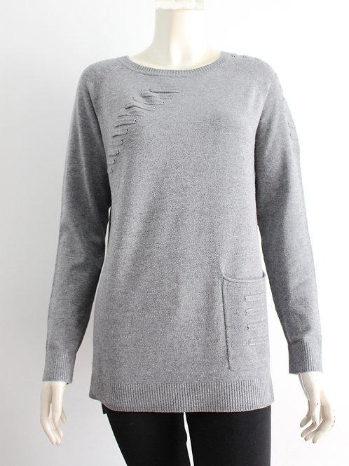 San Lodo Grey Sweater Style 93491