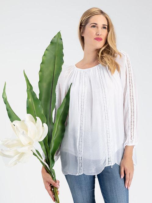 Orly White Blouse #94039