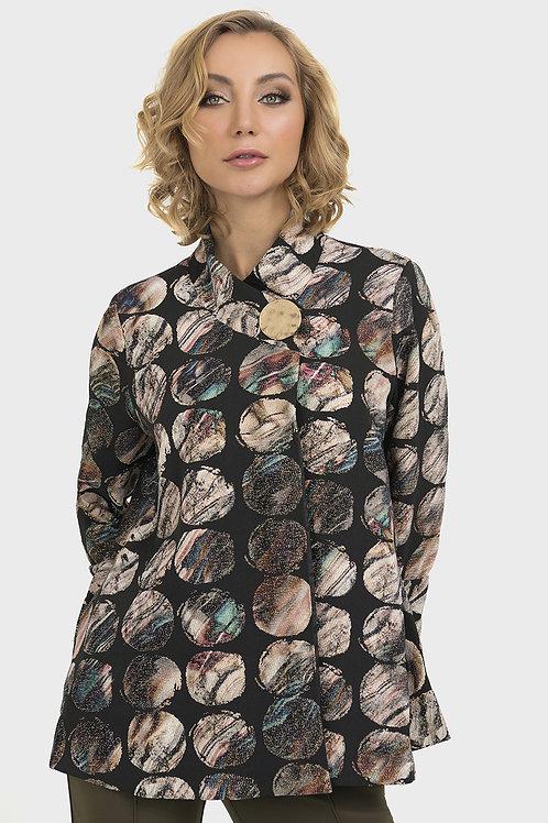 Joseph Ribkoff Black/Multi Vest #193660