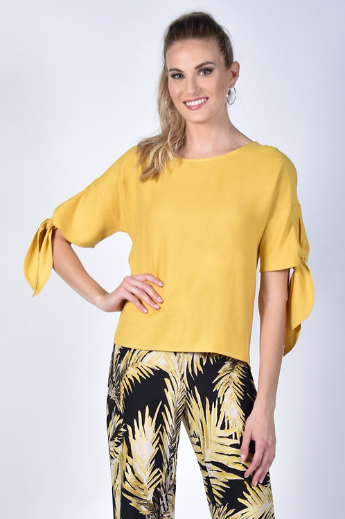 Frank Lyman Yellow Top Style 211157