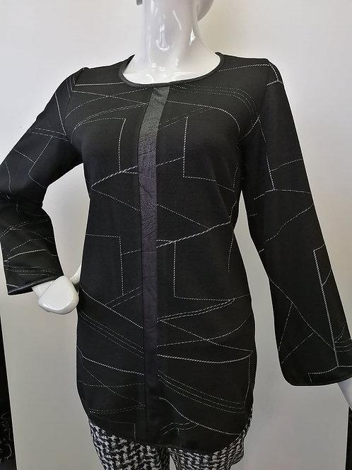 Artex Black/White Tunic Style 37650
