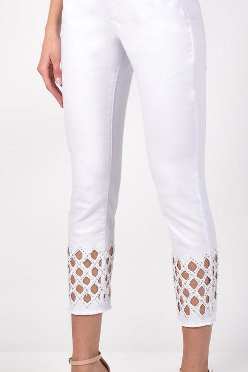 Frank Lyman White Jeans Style 211112U