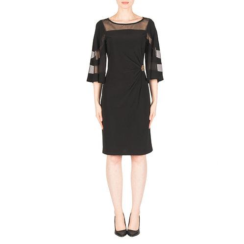 Joseph Ribkoff Black/Gold Dress #183421