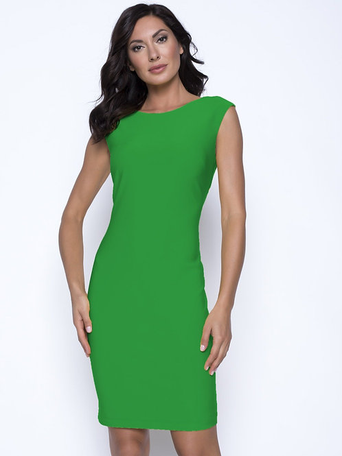 Frank Lyman Green Dress #201046