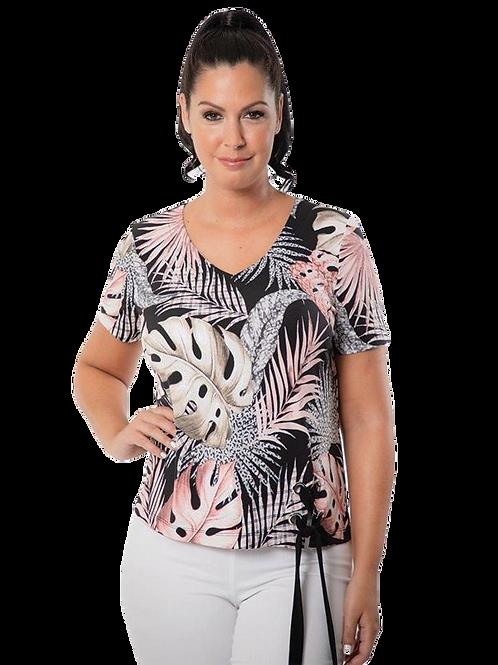 Bali Black/Pink Top Style 7283