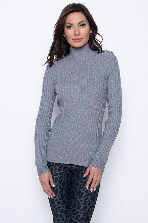 Frank Lyman Grey Sweater Style 203169U