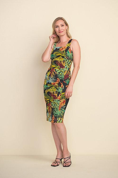 Joseph Ribkoff Black/Multi Dress Style 212128