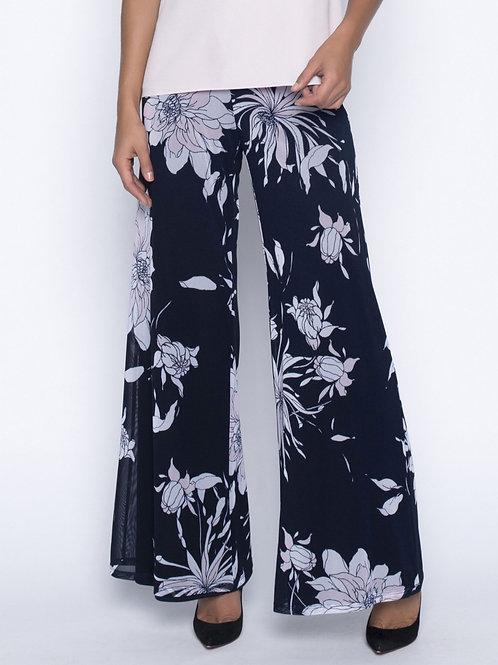 Pantalon Noir/Ivoire/Rose Frank Lyman #191532