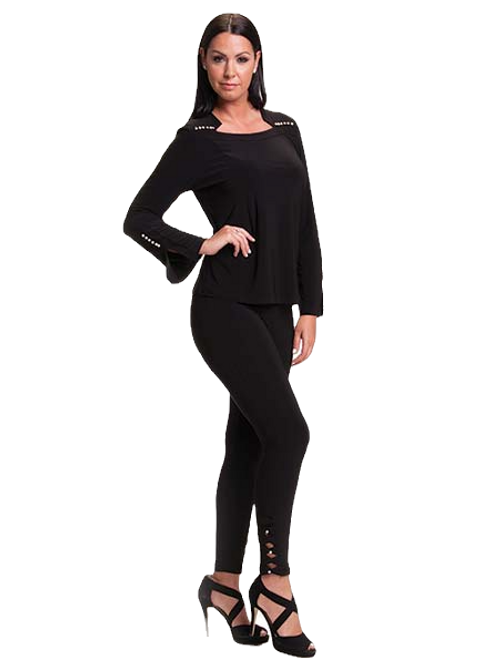 Bali Black Legging Style 6837