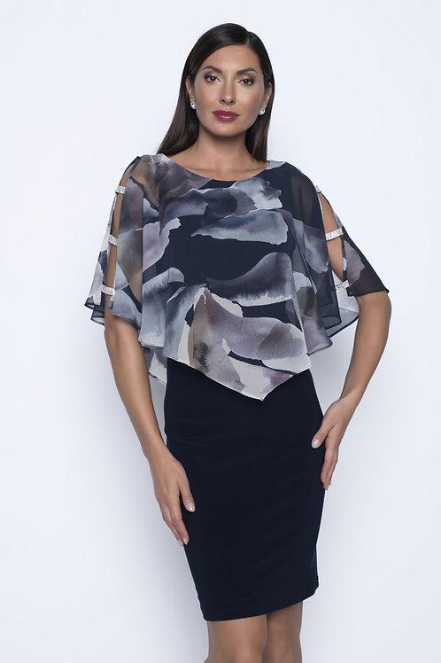 Frank Lyman Navy/Multi Dress #208155