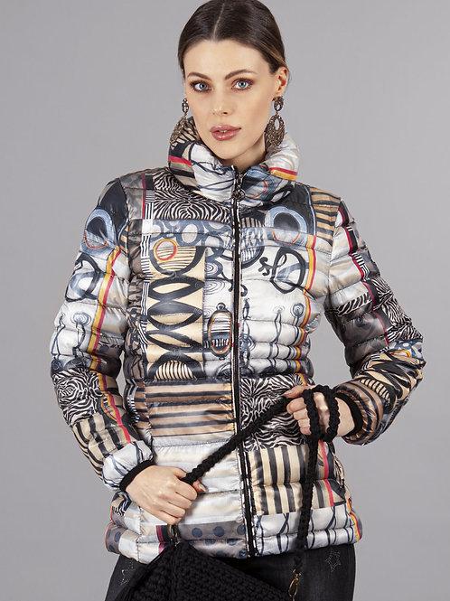 Dolcezza Beige/Multi Jacket Style 70831