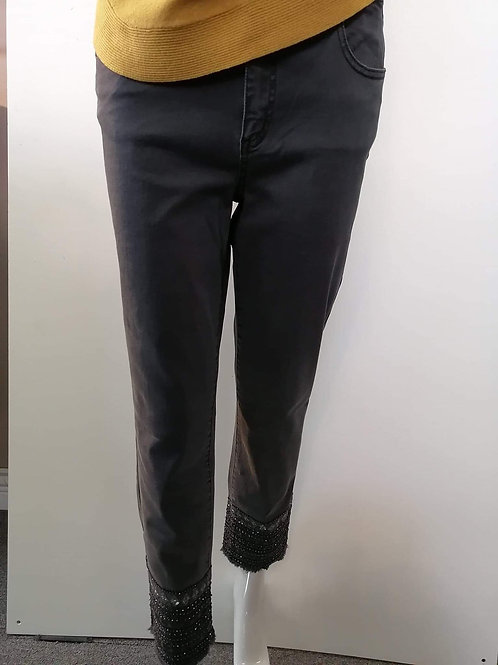 Charlie B Charcoal Jeans Style C5237