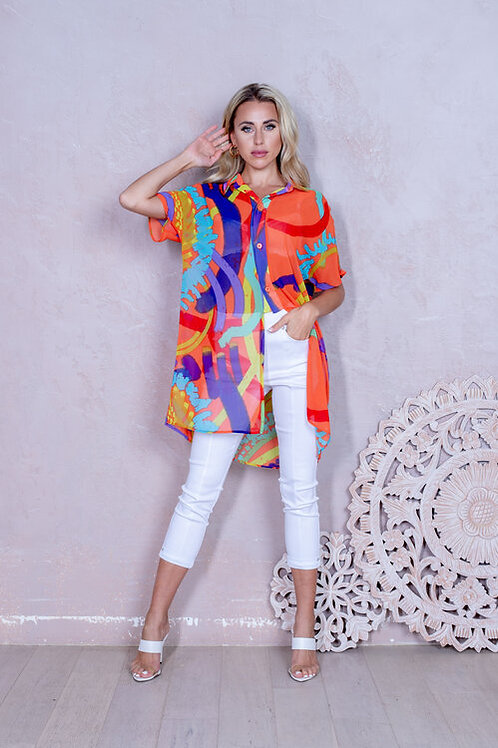 Art Multi Blouse Style 517600