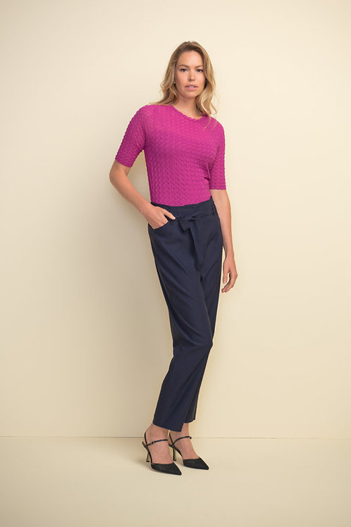 Joseph Ribkoff Textured Orchid Top Style 211928