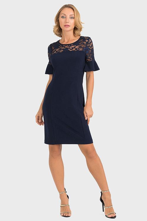 Joseph Ribkoff Midnight Blue Dress #193509