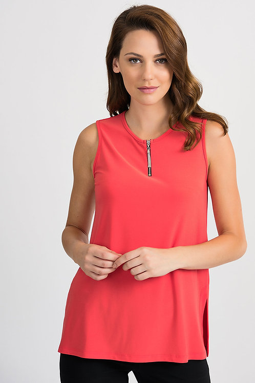 Joseph Ribkoff Papaya Top #201533