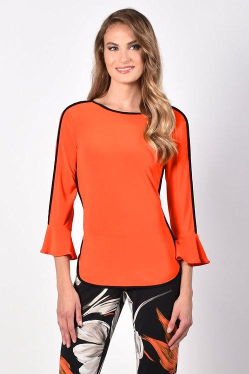 Frank Lyman Pumpkin/Black Top Style 216046