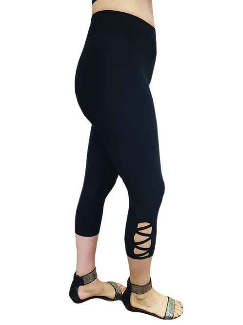 Bali Capri Legging 3 Colors Available Style 4855