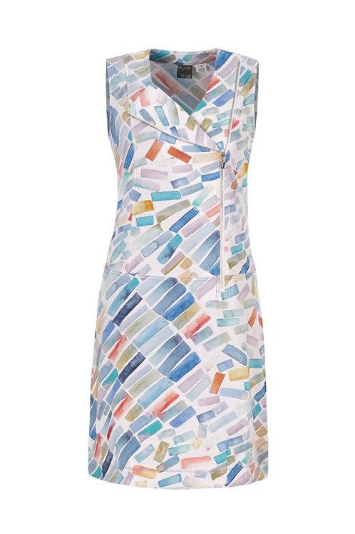 Dolcezza Blue/Multi Dress Style 21636