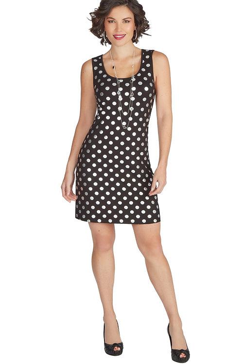 Tricotto Black/Silver Dress Style 573
