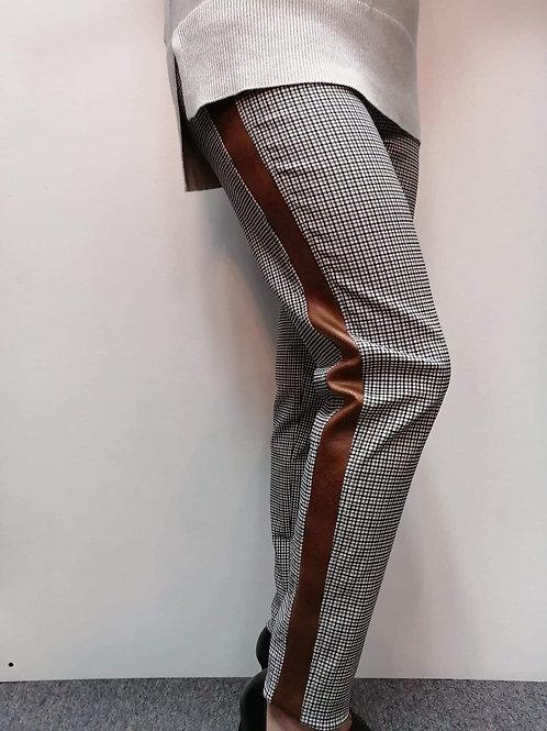 Emelie Cognac/Black Pants Style 73263